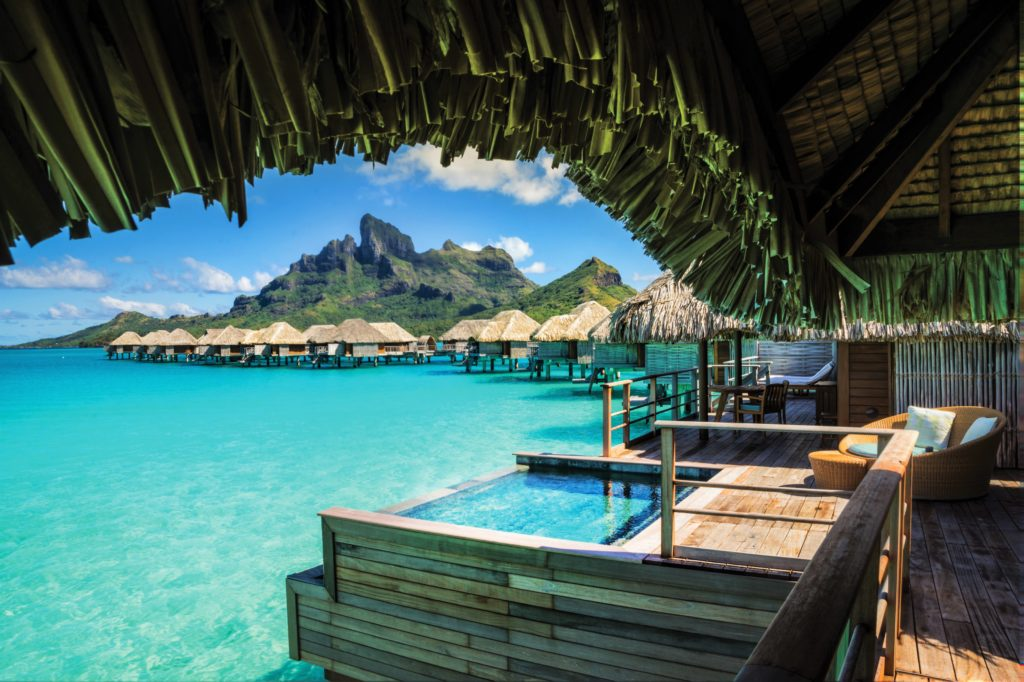 Bora Bora Four Seasons 2-BR Ow Villa with plunge pool