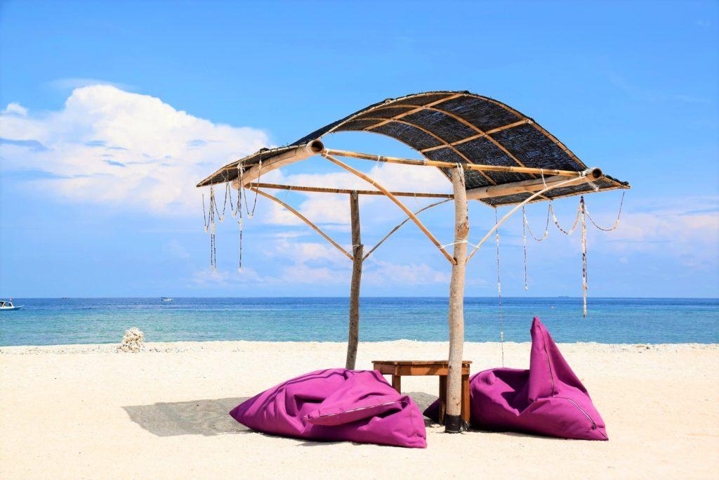 Plaża na wyspach Gili