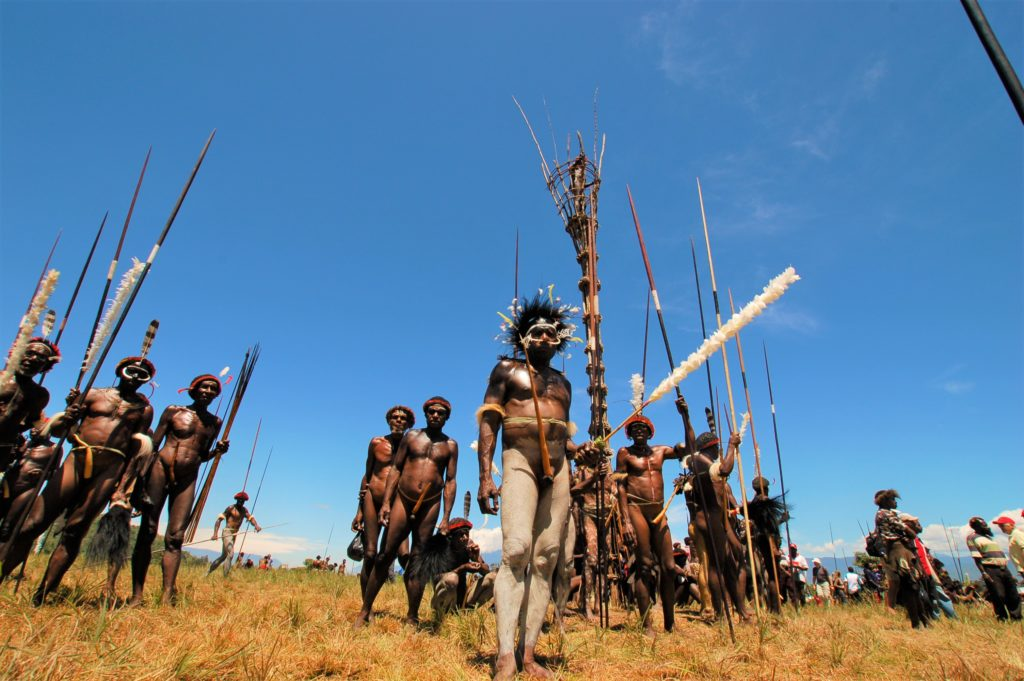 Plemiona na Papui