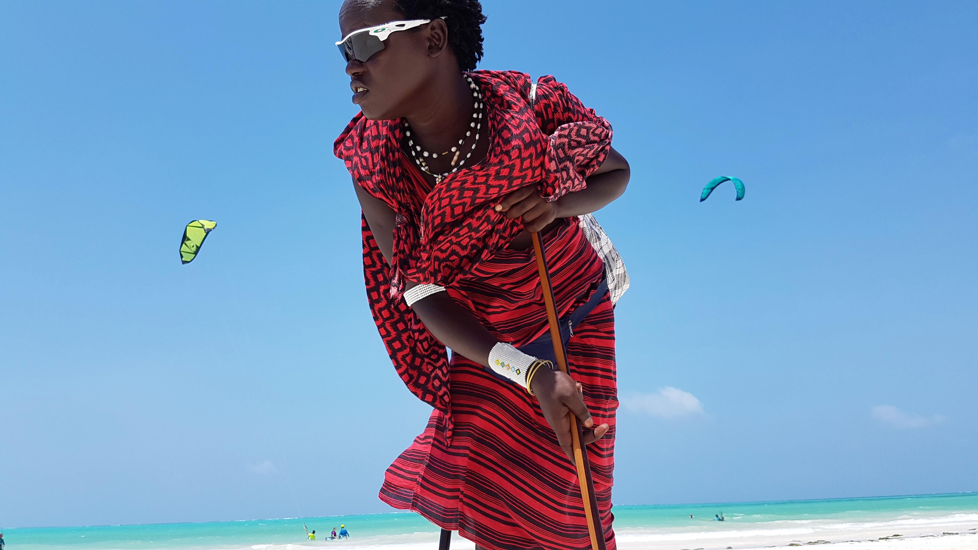 Zanzibarczycy i Masajowie
