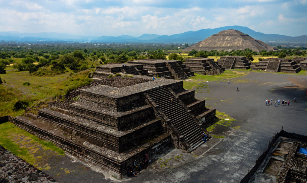 Teotihuacan - piramida w meksyku